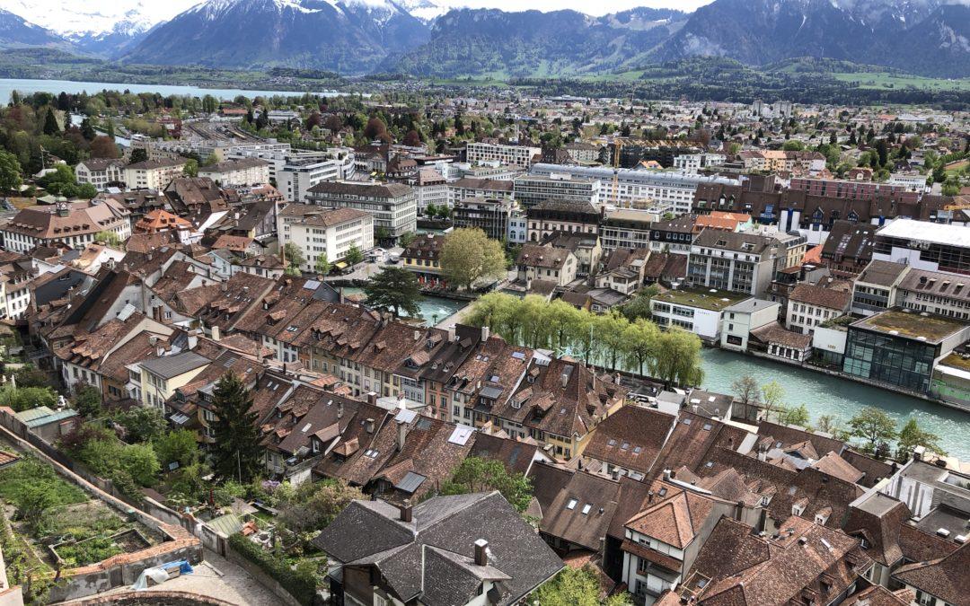 EFUF Swiss week, Webinar 3: Green Spaces and urban Densification